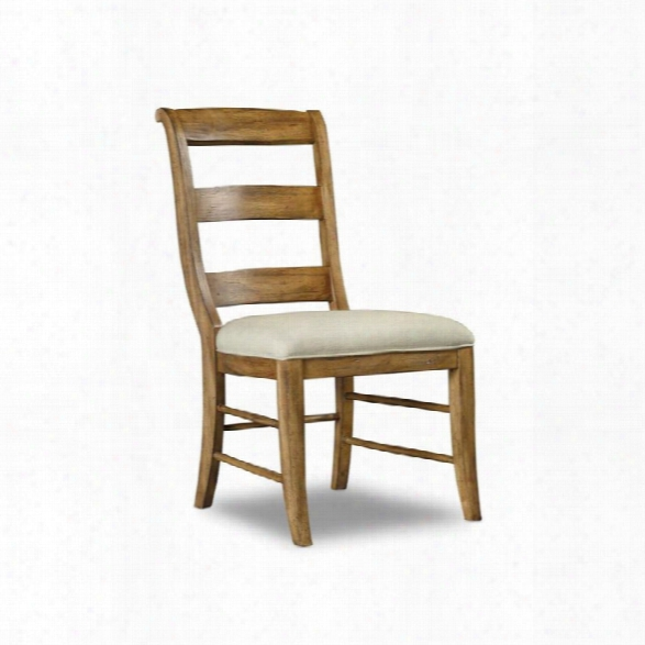 Hooker Furniture Archivist Armless Dining Chair In Toffee