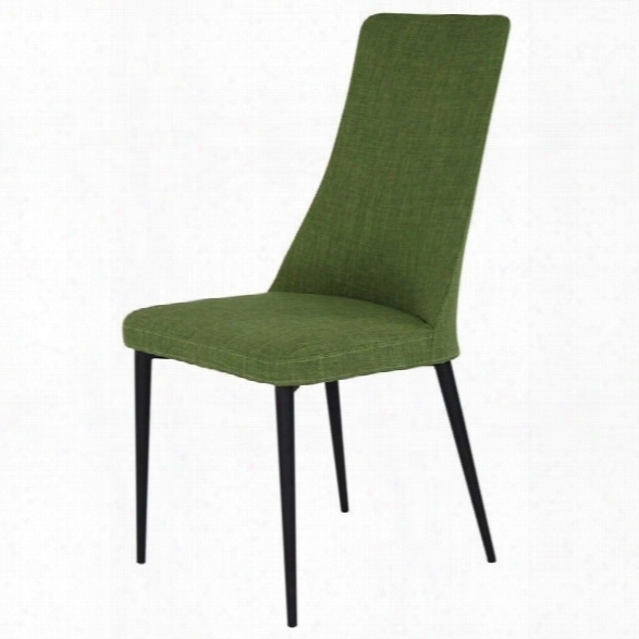 Moe's Palm Dining Chair In Green