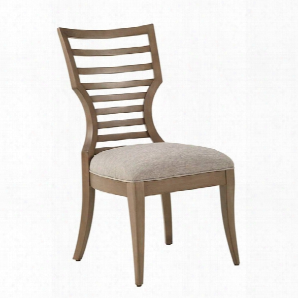 Stanley Furniture Virage Wood Side Chair In Basalt