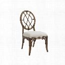 Tommy Bahama Bali Hai Cedar Key Dining Chair in Warm Brown