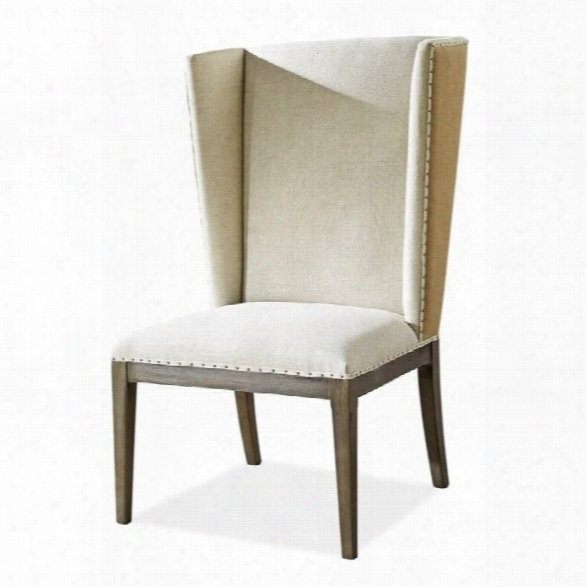 Universal Furniture Playlist Host Dining Side Chair In Brown Eyed Girl