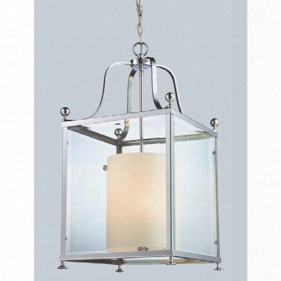 Z-lite Fairview 6 Light Pendant In Chrome
