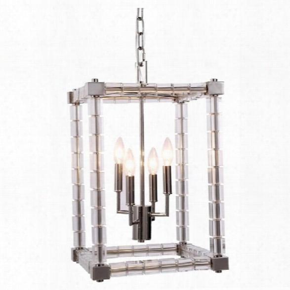 Elegant Lighting Cristal 13 4 Light Pendant Lamp