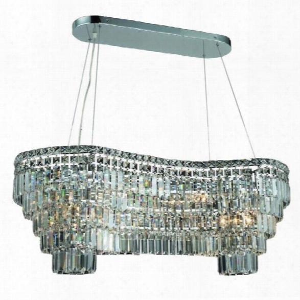 Elegant Lighting Maxime 40 14 Light Elements Crystal Chandelier