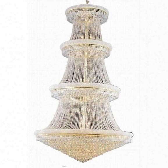 Elegant Lighting Primo 62 56 Light Elements Crystal Chandelier