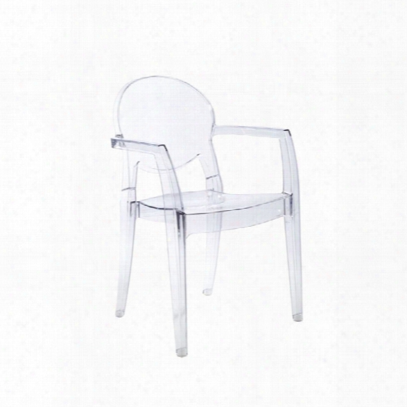 Eurostyle Igloo Stacking Arm Chair (set Of 4)