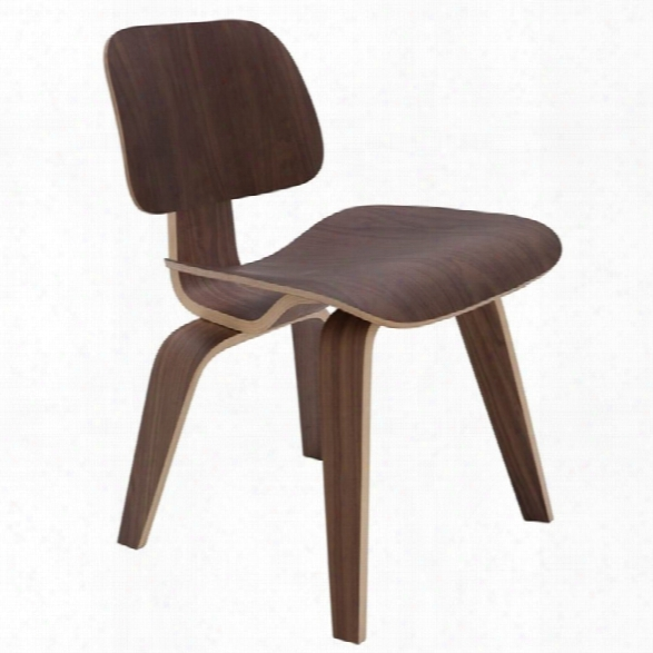 Nuevo Sophie Dining Side Chair In Walnut
