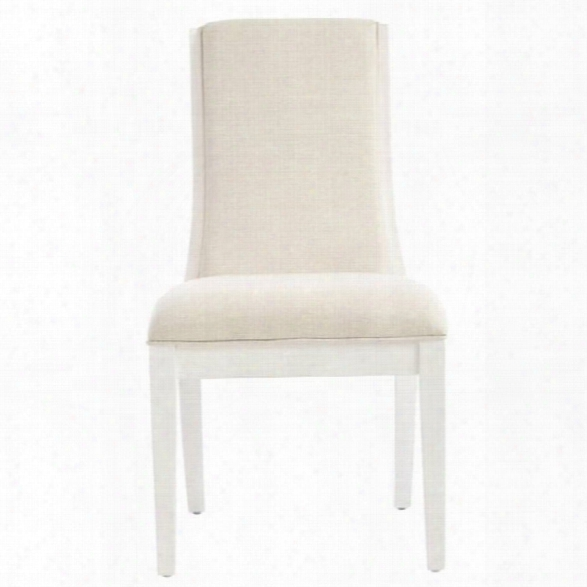 Stanley Furniture Panavista Madagascar Side Chair In Alabaster