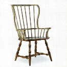 Hooker Furniture Sanctuary Spindle Arm Dining Chair in Drift and Dune