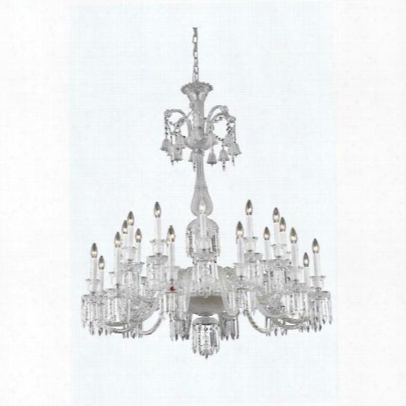 Elegant Lighting Majestic 44 24 Light Elegant Crystal Chandelier
