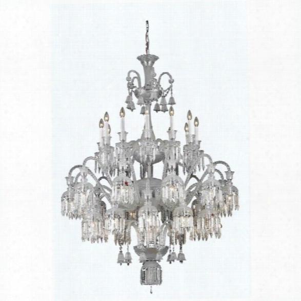 Elegant Lighting Majestic 48 36 Light Elegant Crystal Chandelier