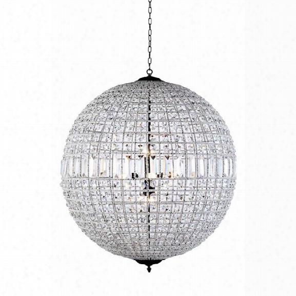 Elegant Lighting Olivia 36 8 Light Royal Crystal Pendant Lamp