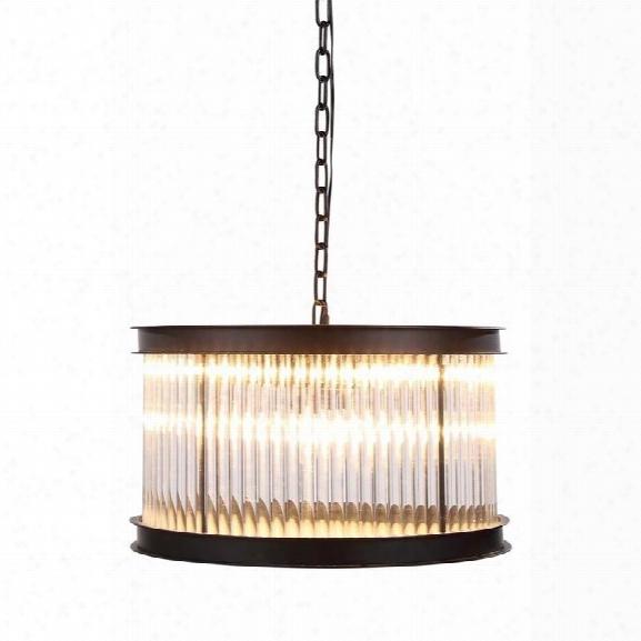 Elegant Lighting Royale 20 6 Light Pendant Lamp