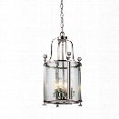 Z-Lite Wyndham 4 Light Pendant in Brushed Nickel