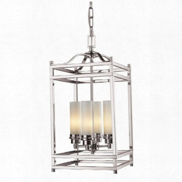Z-lite Altadore 4 Light Pendant In Brushed Nickel