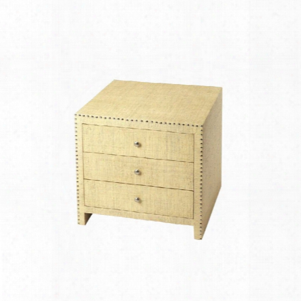 Butler Specialty Butler Loft 3 Drawer Danilo Accent Chest
