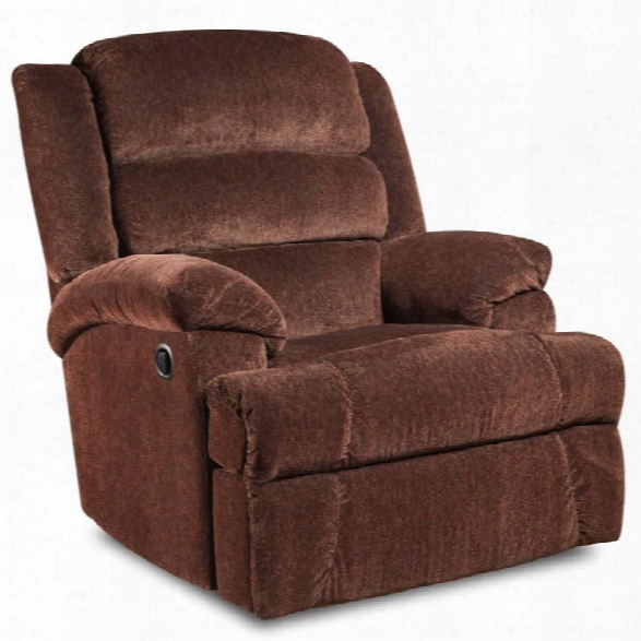 Flash Furniture Aynsley Big And Tall Recliner In Claret Orange