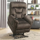 PRI Serengeti Dual Motor Lift Chair in Light Brown