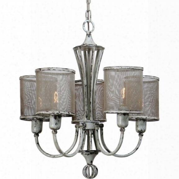 Uttermost Pontoise 5 Light Vintage Chandelier