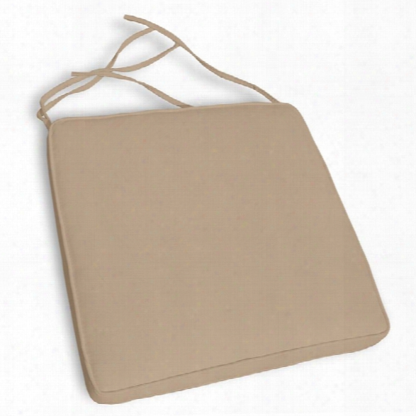 Compamia Orlando Florida Dining Chair Cushion In Beige (set Of 6)