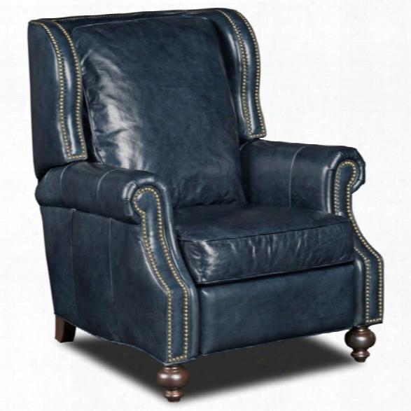 Hooker Furniture Balmoral Maurice Recliner In Blue