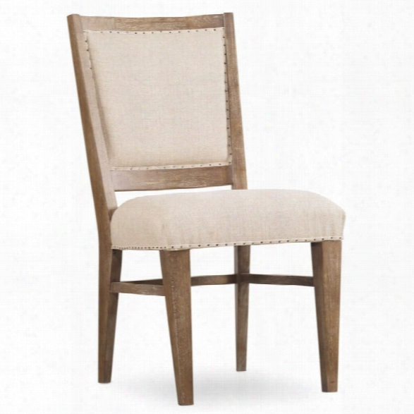 Hooker Furniture Studio 7h Upholstered Dining Side Chair In Beige