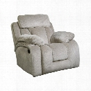 Ashley Stricklin Rocker Recliner in Pebble