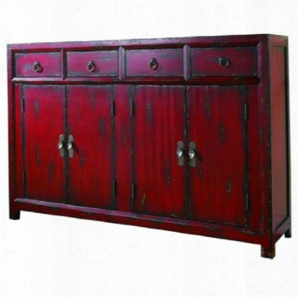 Hooker Furniture Seven Seas 58 Red Asian Accent Chest