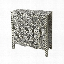 Butler Specialty Bone Inlay Accent Chest in Black Bone Inlay