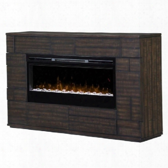 Dimplex Markus Sparkling Ember Bed Electric Fireplace Mantel In Boston