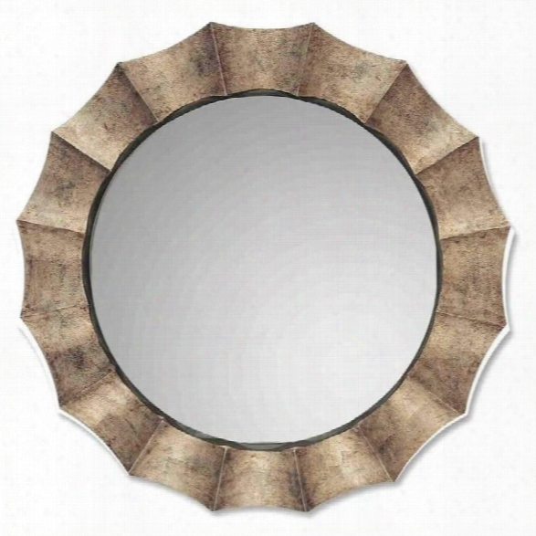 Uttermost Gotham U Antique Silver Leaf Wall Mirror