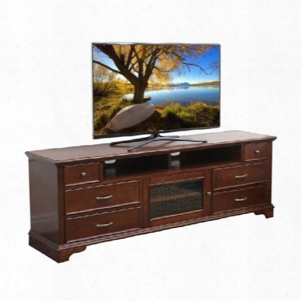 Abbyson Living Monet 72-inch Tv Console In Walnut
