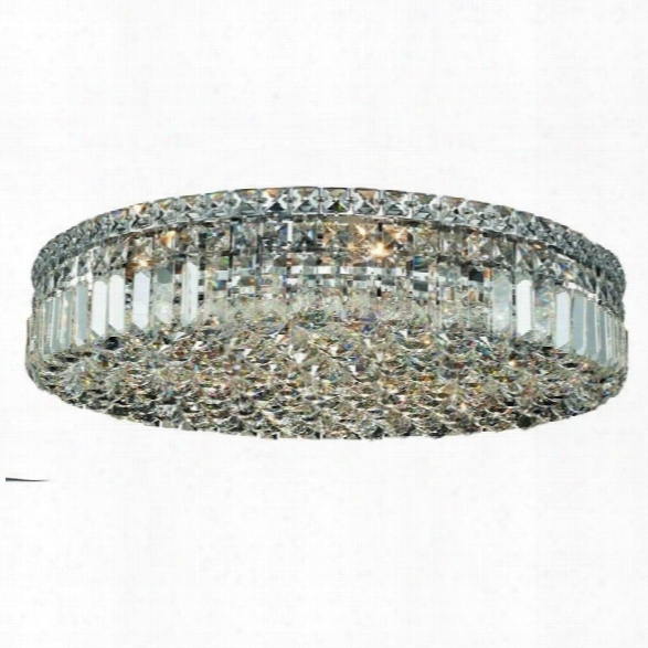 Elegant Lighting Maxime 24 9 Light Elements Crystal Flush Mount