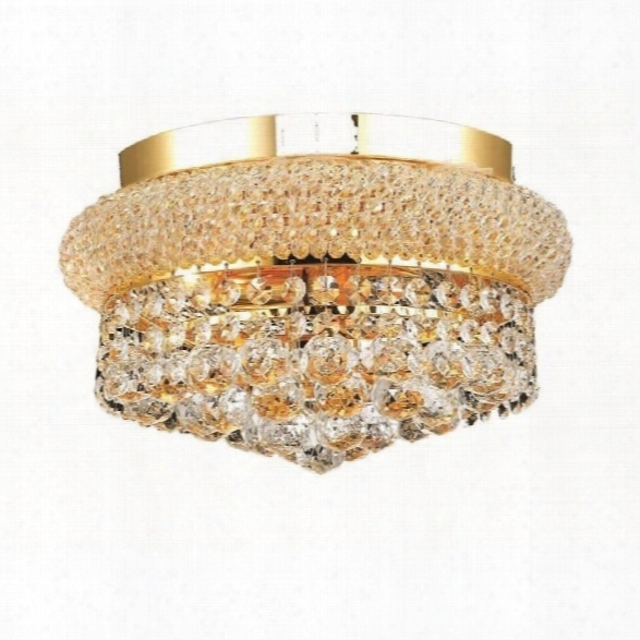 Elegant Lighting Primo 12 4 Light Spectra Crystal Flush Mount
