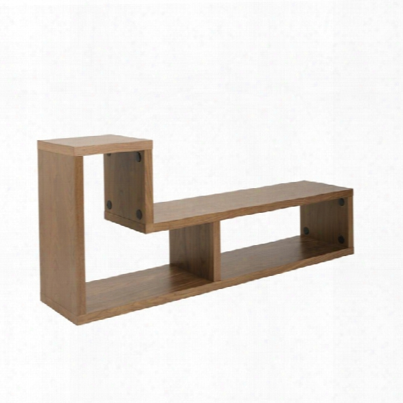 Eurostyle Mervin 62 Tv Stand In American Walnut