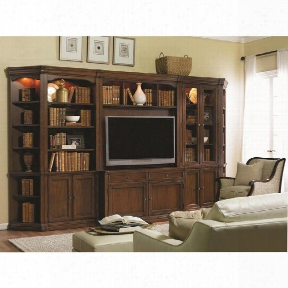 Hooker Furniture Cherry Creek Entertainment Wall Unit In Brown