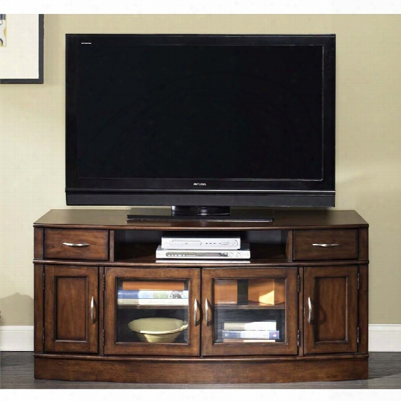 Liberty Furniture Hanover Tv Stand In Cherry Spice