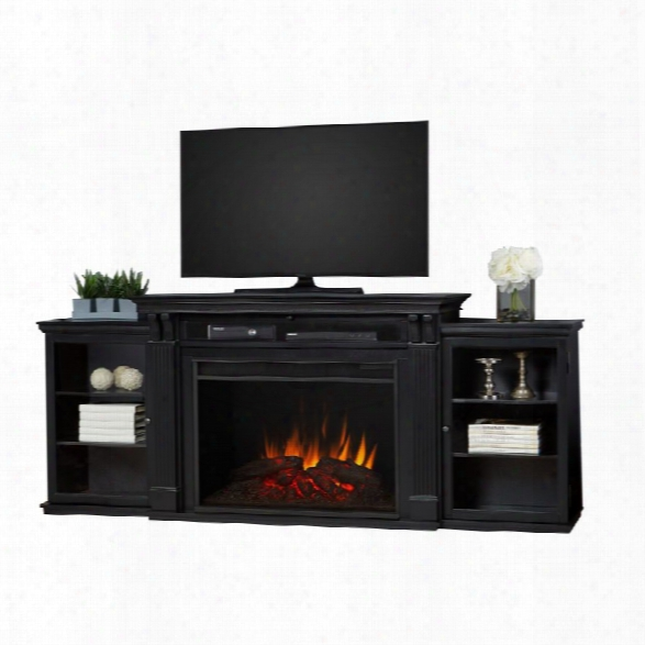 Real Flame Tracey 84 Fireplace Tv Stand In Black