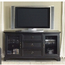 Liberty Furniture Beacon 64 TV Stand in Black