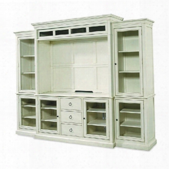 Universal Furniture Summer Hill Entertainment Wall In Cotton