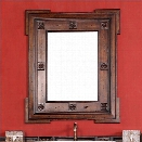 James Martin Regent 30 Mirror in English Burl