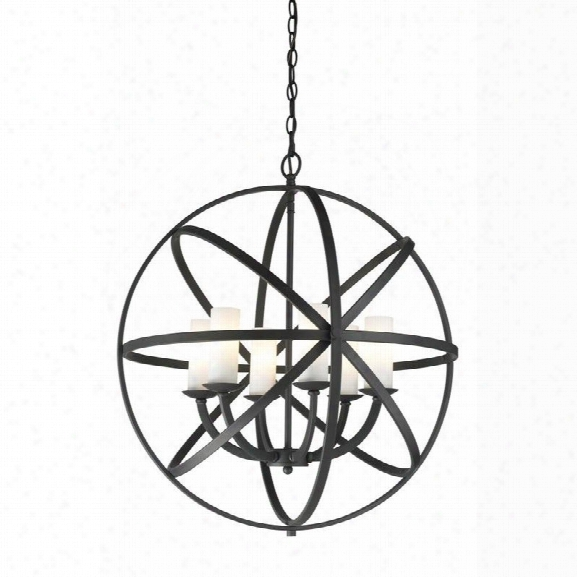 Z-lite Aranya 6 Light Pendant In Bronze