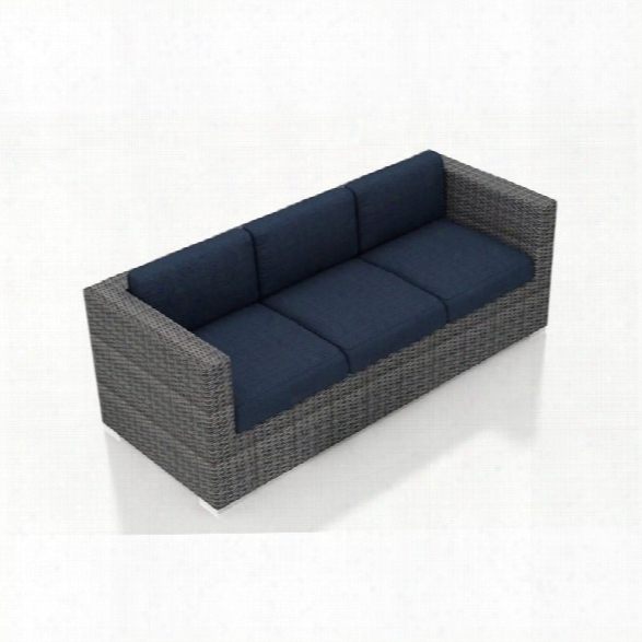 Harmonia Living District Patio Sofa In Spectrum Indigo