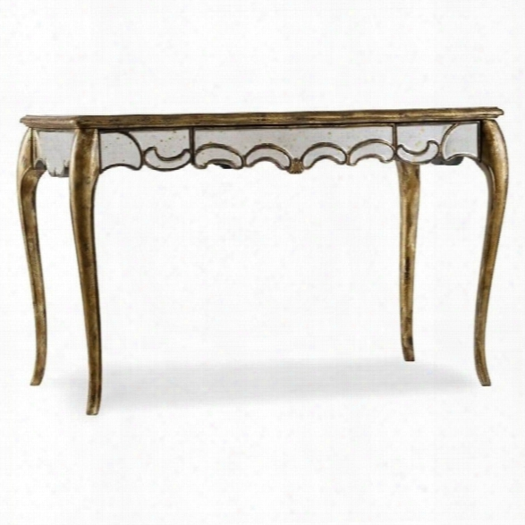 Hooker Furniture 48 Mirrored Writing Desk