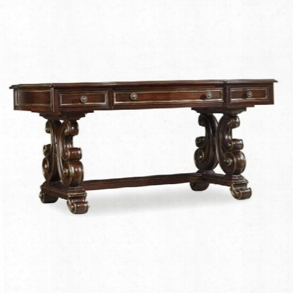 Hooker Furniture Grand Palais 66 Writing Desk In Dark Walnut