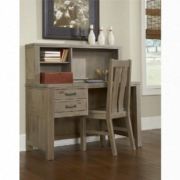 Ne Kids Highlands 2 Drawer Writing Desk With Hutch And Chair