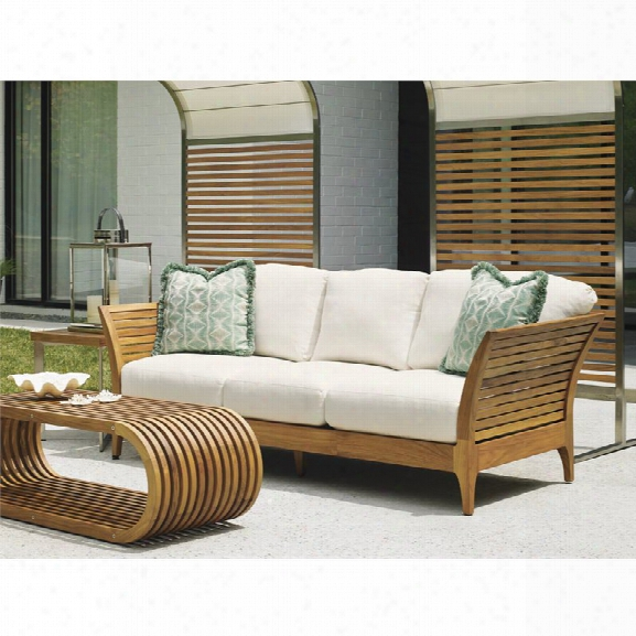 Tommy Bahama Tres Chic Patio Sofa In White