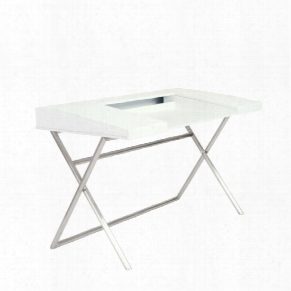 Eurostyle Cruise Writing Desk In White