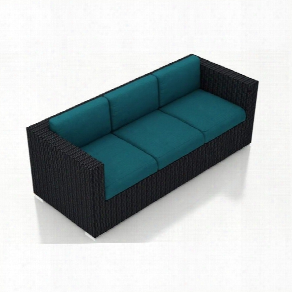Harmonia Living Urbana Patio Sofa In Spectrum Peacock