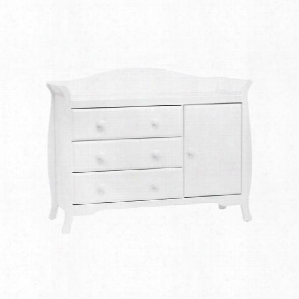 Million Dollar Baby Classic Ashbury Combo Dresser In White
